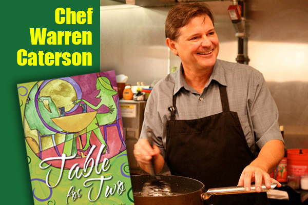 Chef Warren Caterson at the Nashville Home Expo